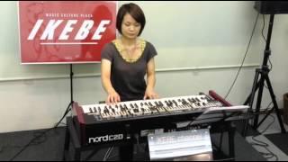 【池部楽器店】 Nord C2D  Funk Demo / feat.大迫杏子