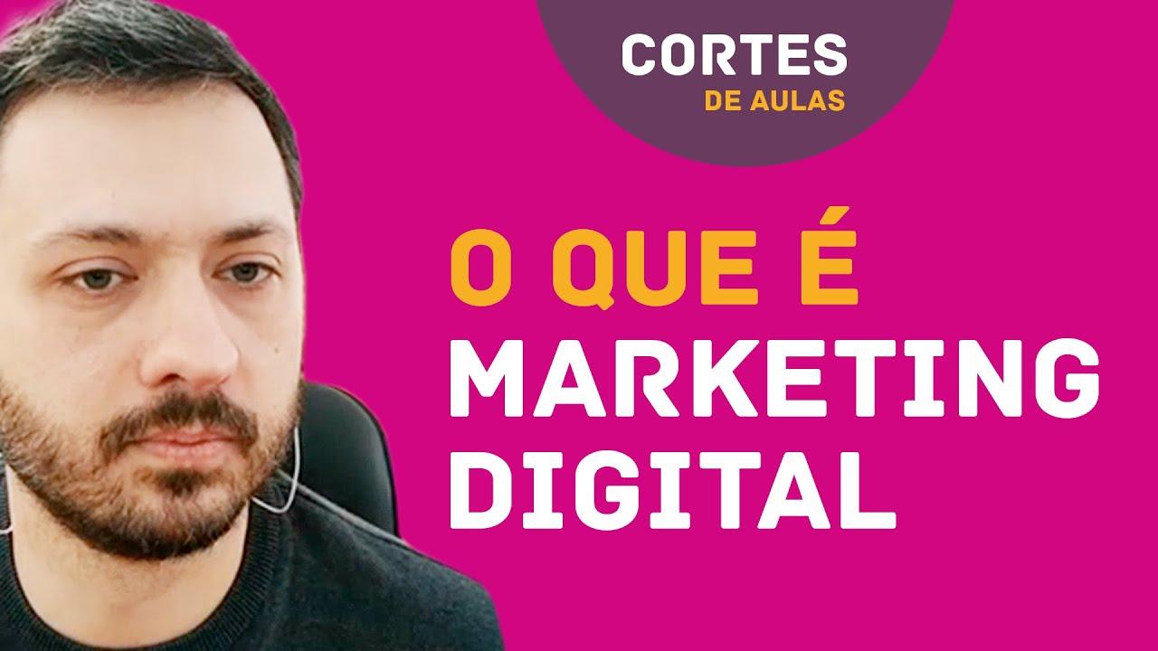 Capa da aula O que é Marketing Digital, suas origens e fundamentos