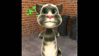 Talking Tom cat sings star wars