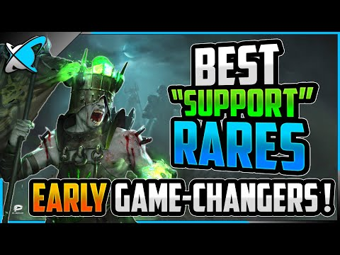 """BEST RARE """"SUPPORT"""" CHAMPIONS 