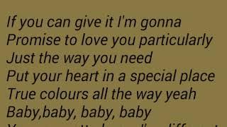 Shekhinah- Different (ft Mariechan) lyrics width=