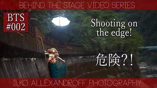 Strobist video: Behind the scenes extremely cool location shoot by Ilko Allexandroff