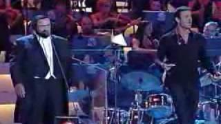 Cielito Lindo 2000 Luciano Pavaroti y Enrique Iglesias