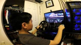 Test drive unlimited 2 PC with Logitech G27 steering wheel