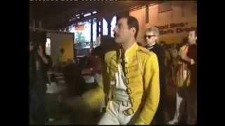 Queen Przed koncertem Wembley, 12 lipca 1986 PL