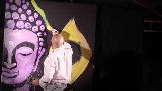 Buda - live painting performance