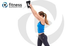My Favorite 10 Minute Upper Body Workout! Fun Upper Body Exercises for Arms, Shoulders, Chest & Back
