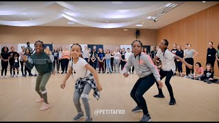Petit Afro Presents - AfroDance || One Man Workshop Part 1 ||  Eljakim Video width=