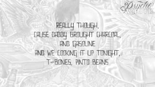 Funky Shit - Travis Barker & Yelawolf  [LYRIC VIDEO]