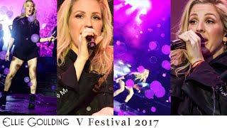 Ellie Goulding - First Time Live at V Festival 2017
