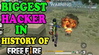 World's biggest Hacker in free fire|| Free fire tricks and tips|| Run Gaming