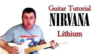 How To Play Nirvana - Lithium guitar lesson