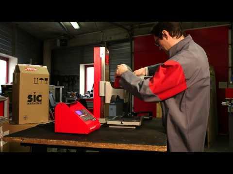 P123 Handheld Marking Machine from SIC Marking