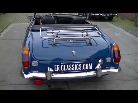 MGB 1971 Teal blue - VIDEO - www.ERclassics.com