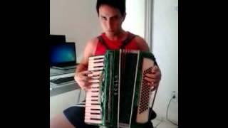 Netinho Tocando Sanfona 23/06/2013