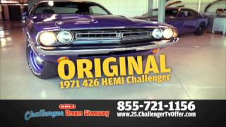 Car Giveaway! 2013 Challenger Dream Giveaway-Enter to Win Dodge Challengers,Help Kids-Ends 5/2014!