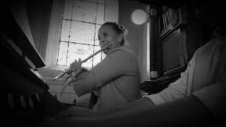 """Andrzej Koziński - Aria na strunie """"G"""" ( organy i flet poprzeczny )"""