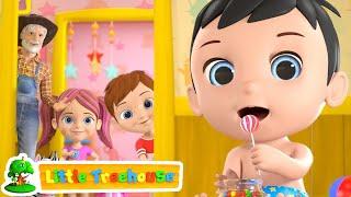 Johny Johny Yes Papa   Kindergarten Nursery Rhymes for Kids   Cartoon Songs by Little Treehouse