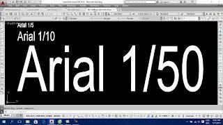 Video 18: Dạy vẽ Autocad - Ghi chú chữ lên bản vẽ