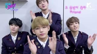 IDOL ARCADE(대기실 옆 오락실): BTS(방탄소년단)비하인드 영상!_Spring Day(봄날)(큐트ver.)