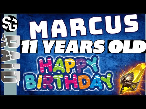 RAID SHADOW LEGENDS | 11YR OLD MARCUS JOINS ME FOR BIRTHDAY SUMMONS