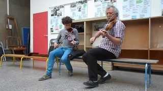 Duo Violon à Vitruve Folk - Léo et Marc - Mai 2015