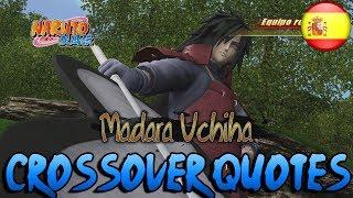 Crossover Quotes en Español: Madara Uchiha (Naruto Shippuden) | J-Stars Victory VS+