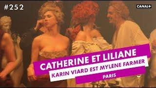 Karin Viard est Mylène Farmer - Catherine et Liliane Spécial Cannes - CANAL+