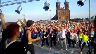 Maraton Zumby 2015 Legnica Galeria Piastów - Adaś - i Jego Show :)