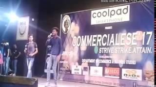 Rapper Shahzad ft jazz live performance Jamia milia islamia college