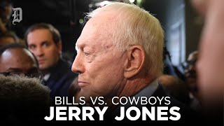 Jerry Jones talks after disappointing loss to the Buffalo Bills