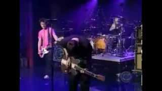 blink-182  Down live (David Letterman Show)