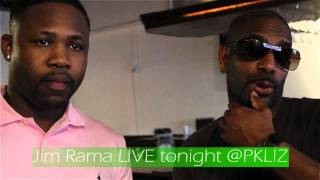 Jim Rama Live tonight @pkliz
