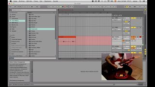 Ableton Live : Sampling (Guitarra eléctrica a MIDI slices)