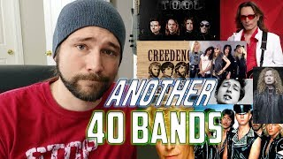 Describing ANOTHER 40 Bands in 1 Sentence or Less | Mike The Music Snob Reacts