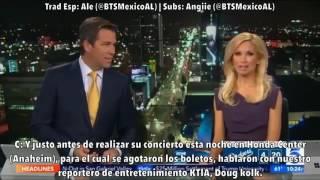 [Sub Esp] BTS en KTLA News Estados Unidos (170331)