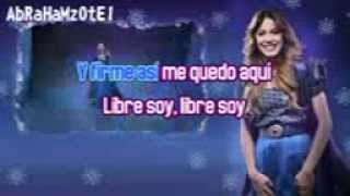 Martina Stoessel- Libre Soy- Karaoke- Español/italiano