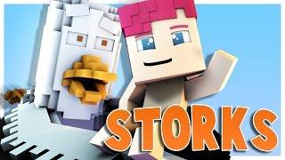 Minecraft Parody - STORKS! - (Minecraft Animation)