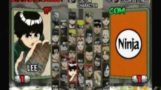 Naruto Ultimate Ninja 2 - All Characters
