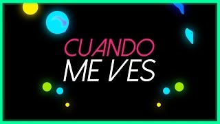 Mattias Santucho - Cuando Me Ves feat. Cristian Kriz (Lyric Video)
