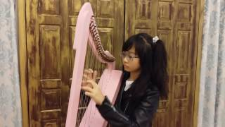 Counting Stars * One Republic ~ Yorkie Music (Harp Cover)