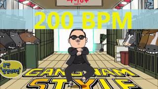 PSY - GANGNAM STYLE - 200 bpm (Official Music)