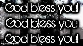 God Bless You - Black Veil Brides (FULL) Lyrics