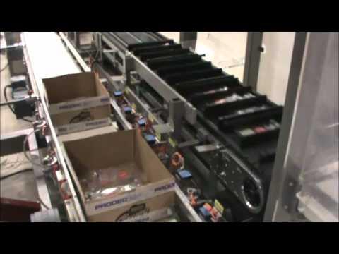 Otomatik Serum Poşet Kolileme Makinası