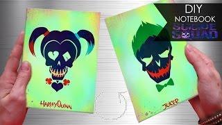 DIY Notebook ☠ Suicide Squad | Joker & Harley Quinn