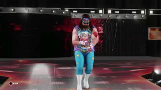 Dude Love Entrance (WWE 2K18)