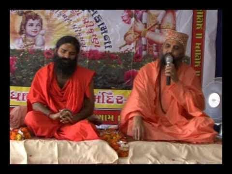 Yog Guru Shri Ramdevji Maharajshri's first visit at Shri 5 Navtanpuri Dham