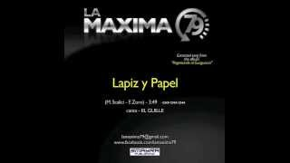 LA MAXIMA 79  - LAPIZ Y PAPEL ( Official Video )
