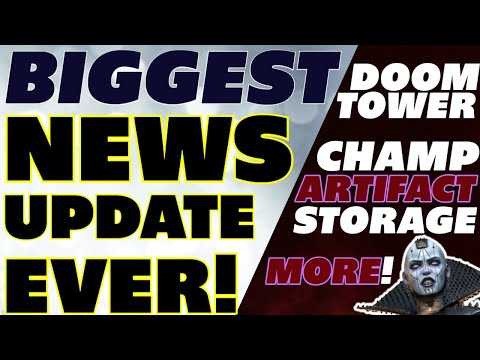 Huge update news! Champ/artifact space Doom Tower, update 2.30 AVATARS omg!! Avatars! Raid shadow