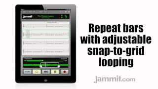"Jammit ipad iphone app Dimmu Borgir Video The Chosen Legacy  ""learn to play bass"""